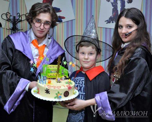Аниматоры Киев, Детский День Рождения в стиле Harry Potter