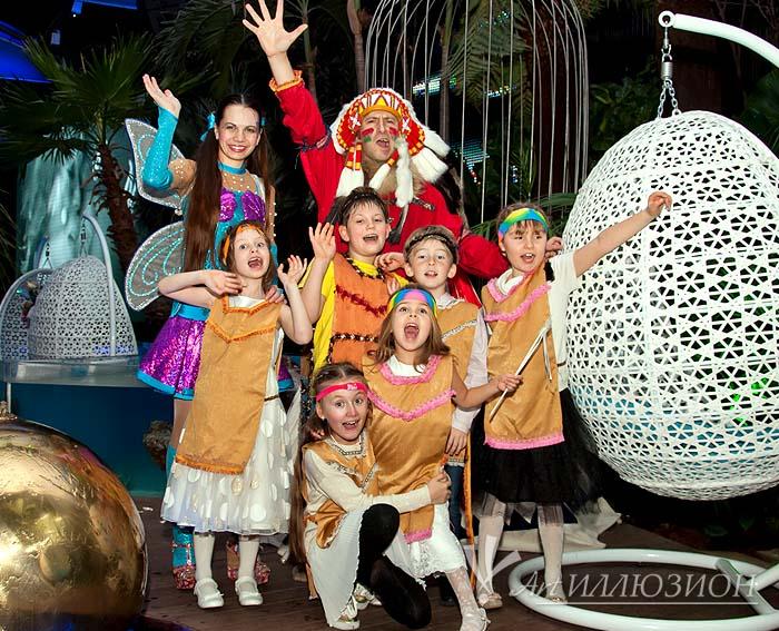 Индейцы от Агентства Детских Праздников Арт-Иллюзион