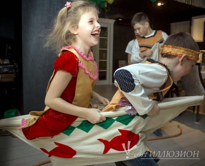 Детский День Рождения в стиле Индейцев