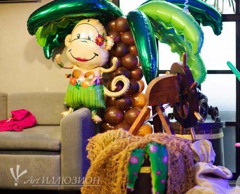 Детский День Рождения в стиле Пиратов