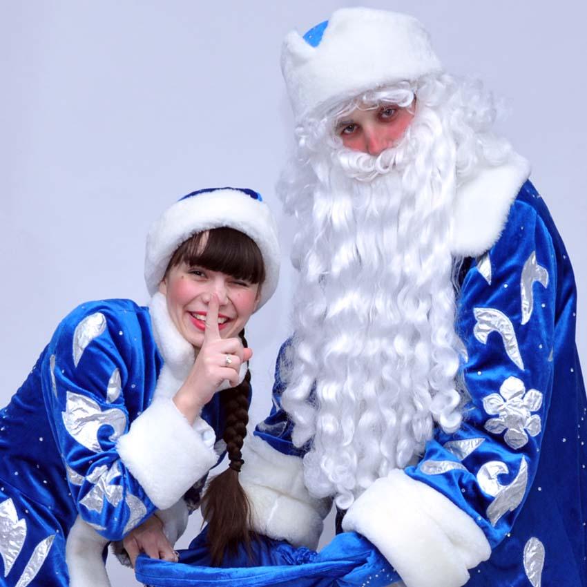 Дед Мороз и Снегурочка на детский новогодний праздник