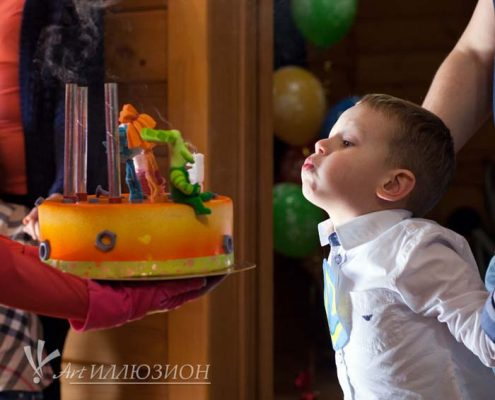 Детский День Рождения в стиле Фиксики