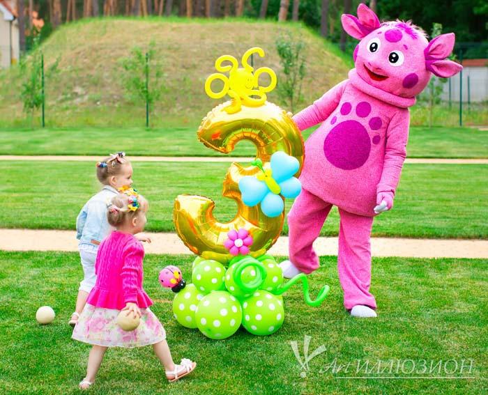 Детский День Рождения в стиле Лунтик