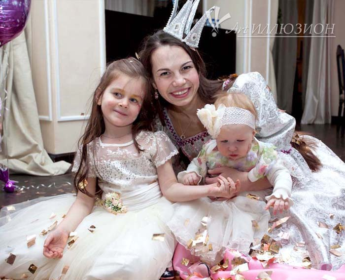 Детский День Рождения в стиле Princess