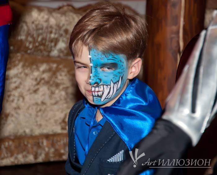 Детский День Рождения в стиле Супергерои