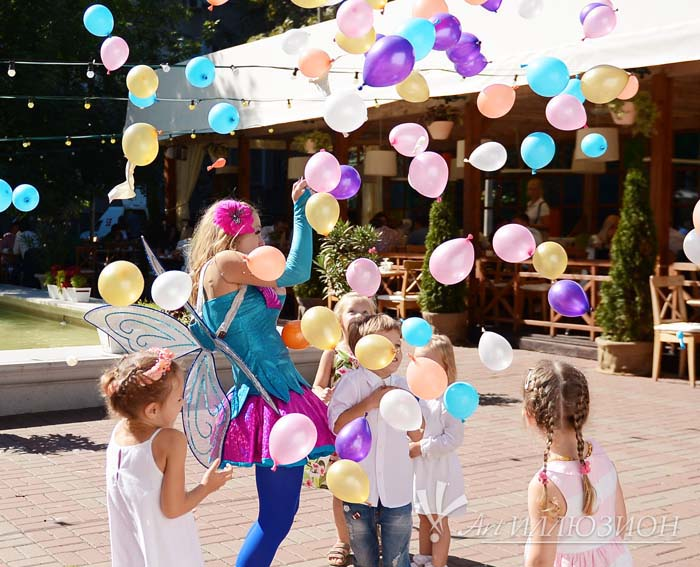 Детский День Рождения в стиле Winx
