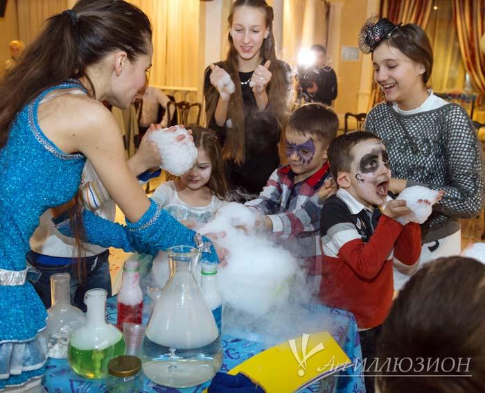 корпоративные детские новогодние праздники в стиле Монстров