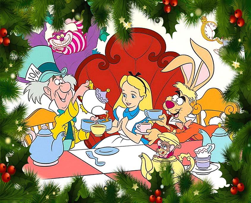Организация и Проведение Детских Новогодних Праздников в стиле Алиса в Стране Чудес