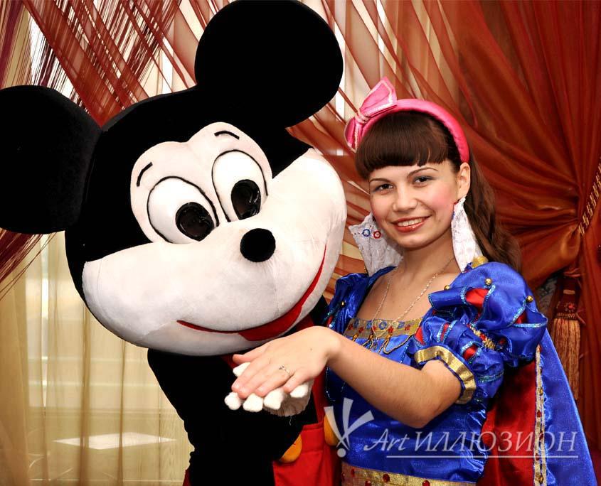 Организация и Проведение Детского Праздника в стиле Mickey Mouse