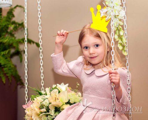 Организация и Проведение Детского Праздника в стиле Princess