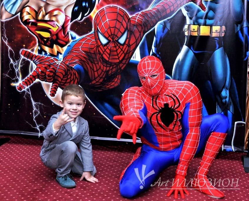 Организация и Проведение Детских Праздников в стиле Superheroes