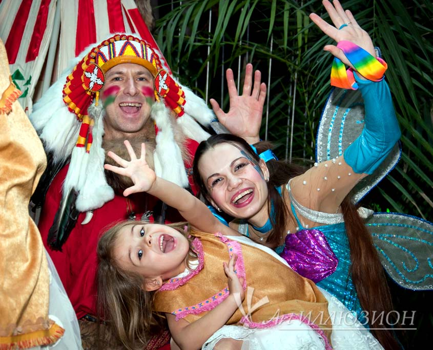 Организация и Проведение Детского Праздника в стиле Индейцев
