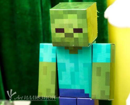 Фотозоны и Декор Minecraft