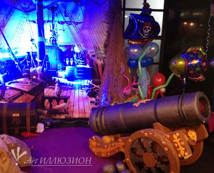Фотозоны и Декор Пираты