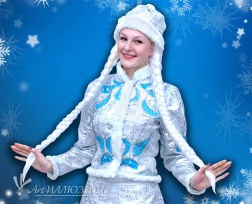 Дед Мороз для детских новогодних праздников и поздравлений в Киеве. Серебро