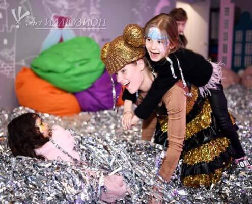 бумажное шоу для детей и взрослых на праздник