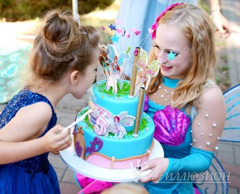 Организация и Проведение Детского Праздника в стиле Winx