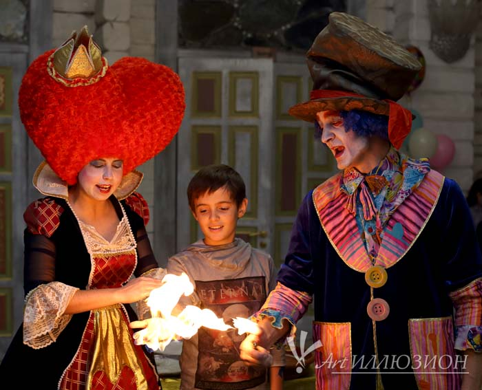 Аниматоры Киев, Детский День Рождения в стиле Алиса в Стране Чудес