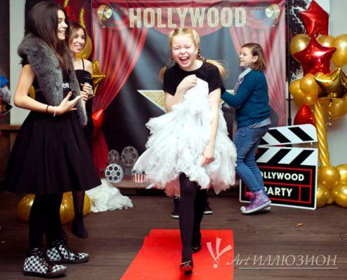 Детский День Рождения в стиле Hollywood