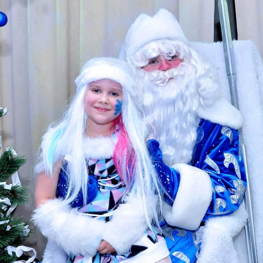 Поздравление Деда Мороза на дом. Киев