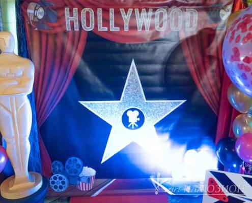 Фотозоны и Декор Hollywood