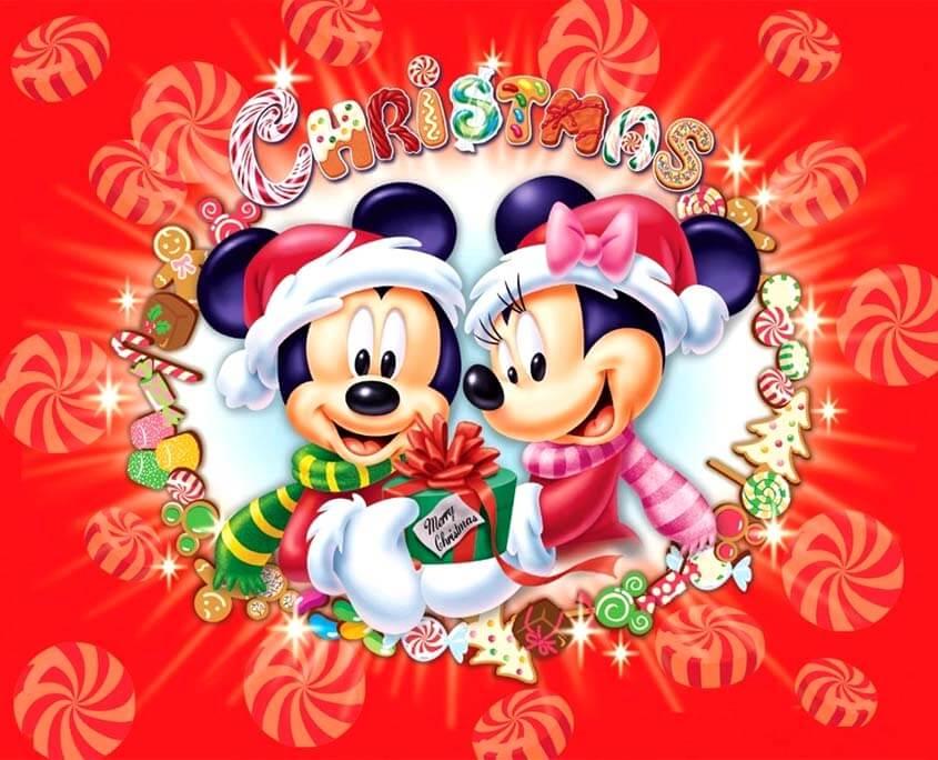 Новогодние Праздники для Детей в Киеве. Mickey Mouse