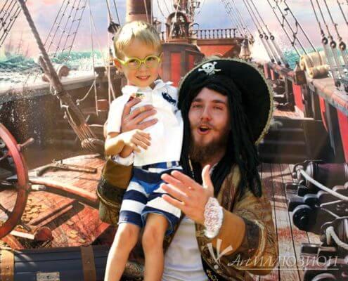 Аниматоры Киев на детский праздник в стиле Пираты