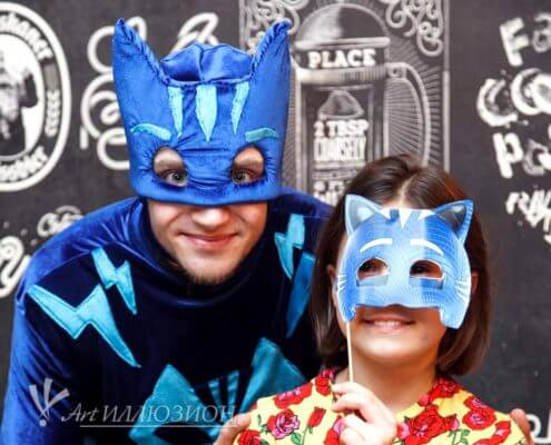 Детский день рождения Киев в стиле Герои в Масках