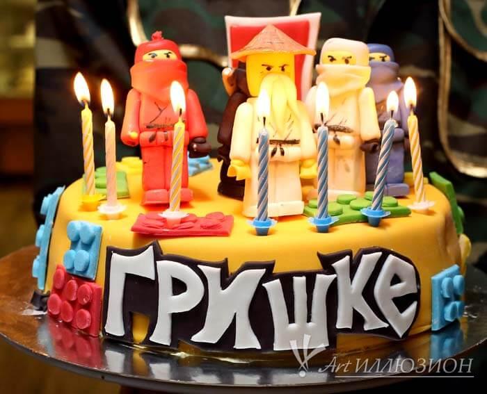 Торт на заказ на День рождения ребенка Киев для мальчика