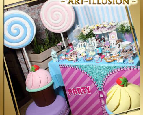 Candy Bar в стиле LOL