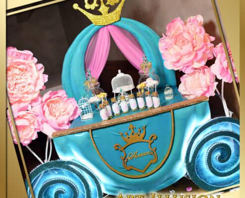 Кенди бар в стиле Princess