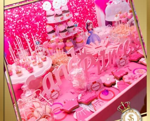 Candy Bar в стиле Princess