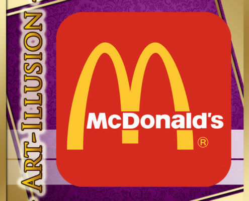 event agency Art-Illusion and McDonald`s