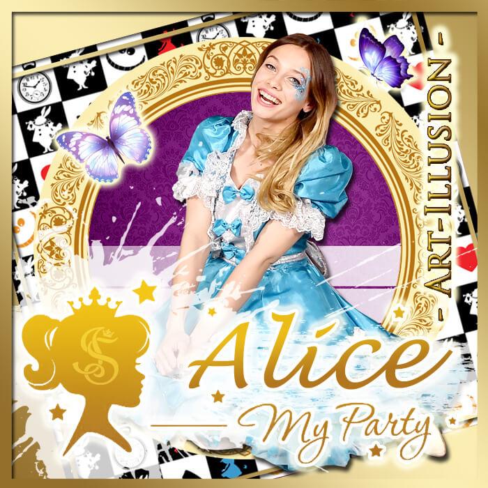 Детский День Рождения в стиле Alice